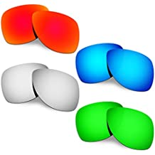 Hkuco Plus Mens Replacement Lenses For Oakley Dispatch 2 - 4 pair