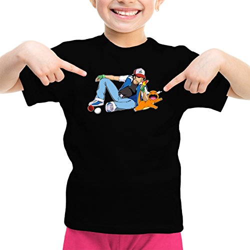 Okiwoki T-Shirts Pokémon parodique Salamèche Sasha : Un Briquet Bien Pratique : (Parodie Pokémon)