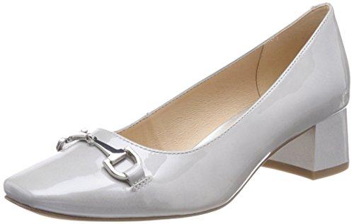 Caprice Damen Pumps, Grau (Grey Patent 240), 38 EU -