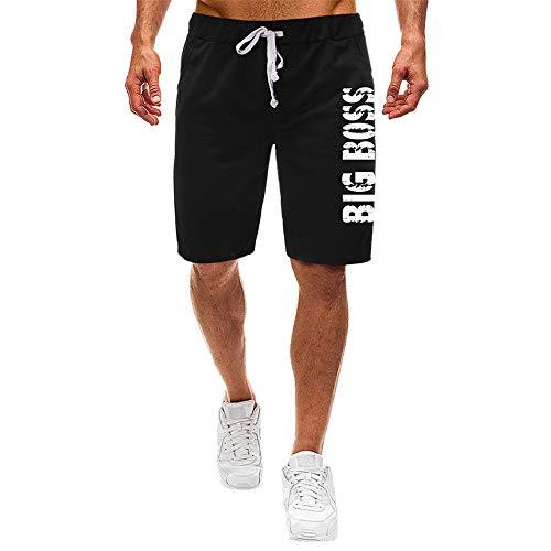 Aiserkly Herren Sweatshorts Kurze Hose Jogginghose Kordel Regular Fit Sport Shorts Strandhose Boxing Shorts Trainingshose