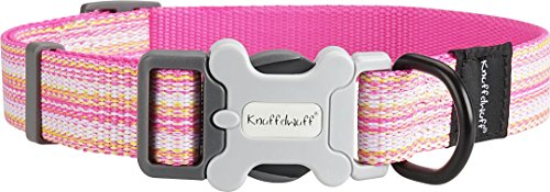Knuffelwuff 13950-001 Hundehalsband Coral Springs, 25-40 cm