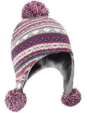 Mountain Warehouse Cappello a maglia da bambino Pom Pom Verde