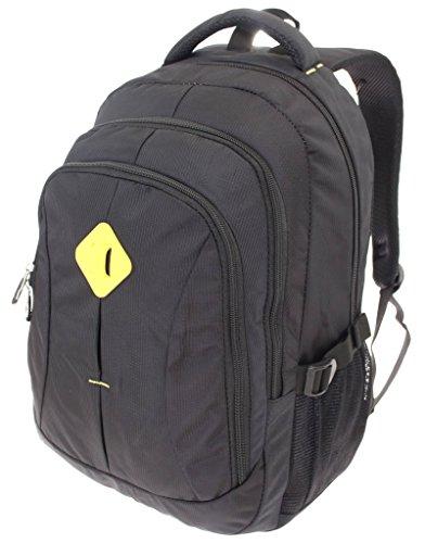 Rucksack Perfect Day Multifunktionsrucksack Campus Daypack Rucksack/Bag A / 4 Outdoor Sport City Schule Arbeit & Freizeit Bag Schulrucksack Sportrucksack Backpack (Schwarz)