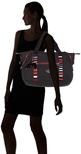 Kipling - ART M - Borsa da viaggio media - Black - (Nero) Nero (Dazz Black Str)