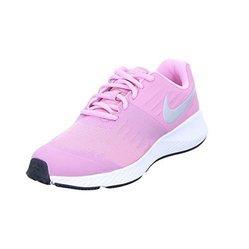 promo code 64c14 4dfab Nike Star Runner (GS), Zapatillas de Running para Mujer, (Elemental Metallic