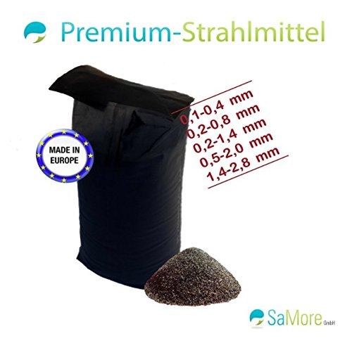 25 kg Strahlmittel Strahlmaster 0,2-0,8 mm - KOSTENLOSER VERSAND INNERHALB VON DEUTSCHLAND (außer Inseln)- S1