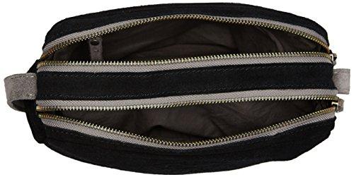 Superdry Aneka Donna Cross Body Bag Nero Nero