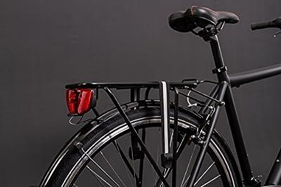 "28"" Zoll Alu MIFA Herren Trekking Fahrrad Shimano 21 Gang Nabendynamo schwarz Rh 55cm"