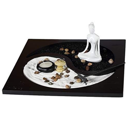 Lachineuse Großer Zen-Garten Yin und Yang