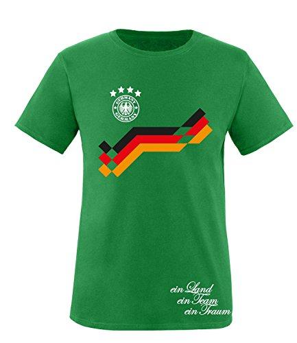 Luckja EM 2016 Deutschland Trikot Wunschname und Wunschnummer Motiv 11 Kinder T-Shirt