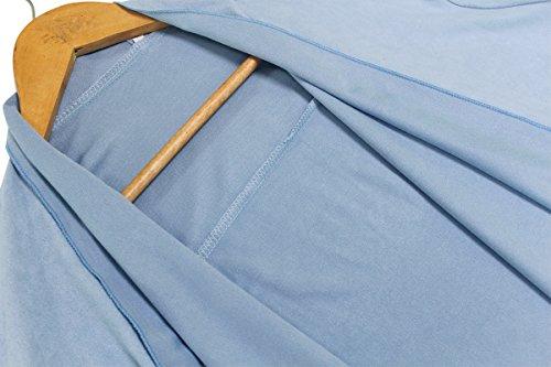 Femme Automne Manches Longues Cardigan Devant Ouvert Cordon De Serrage Gilet Long Veste Pull Outwear Décontracté Manteau Mince Sweat Tops Hauts YOSICIL Bleu Clair