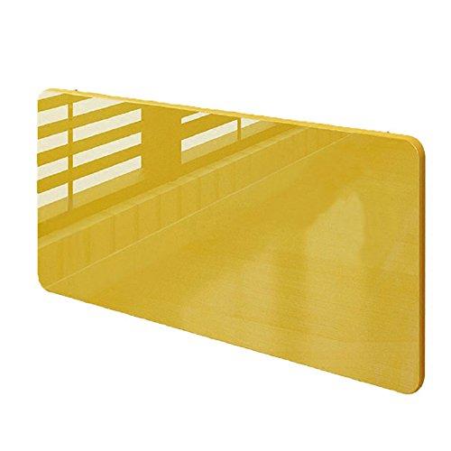 CHUANGCHUANG Klapptisch Esstisch Küche Küche Wand Tisch Konsole Stealth Wand Tisch Esstisch einfachen Computer Schreibtisch (Farbe : Gelb) (Holz Konsole Tisch Und Eisen)