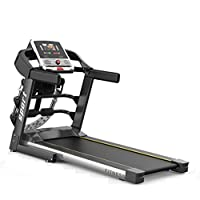 ‏‪Multifunctional Treadmill With Massage 7Inches HD Color Screen 2.0HP Foldable Shock Absorption Silent For Home Gym Office‬‏