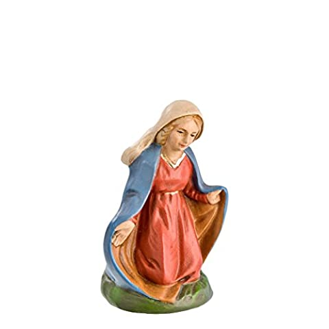 Kneeling Mary, to 3.5 in. figures