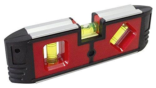 Am-Tech P4865Mini Magnetische Wasserwaage–Mehrfarbig