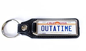 Back To The Future (OUTATIME) License Plate Keyring