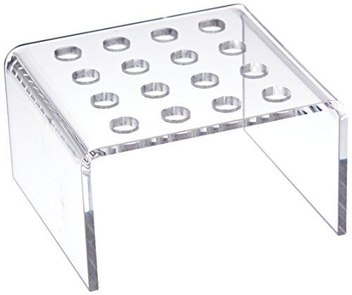 neoLab 2-5019 Einsatz für 4 x 4 Reaktionsgefäße, Acryl, 0,5 mL, Transparent