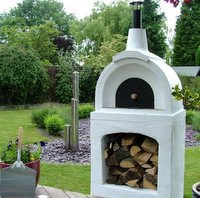 Traditional Outdoor Wood Fired Pizza Oven - Casa
