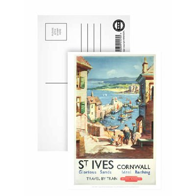 st-ives-cornwall-postcard-pack-of-8-highest-quality