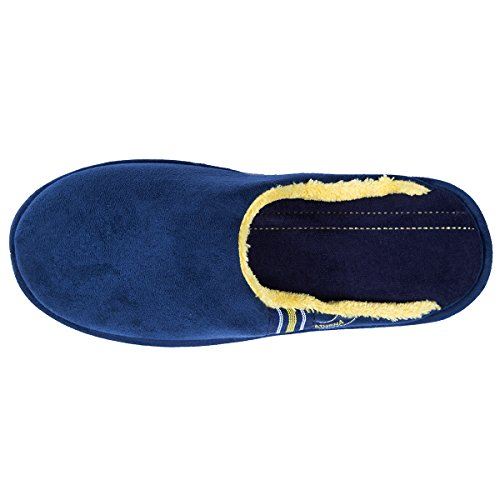 Isotoner Chaussons mules homme Homme Bleu