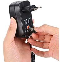 Adaptador de Corriente Universal Adaptador de alimentación de Voltaje Ajustable de múltiples Funciones 3V 4.5V 5V 6V 7.5V 9V 12V 30W Regulado para Dispositivos electrónicos domésticos Enrutadores LCD