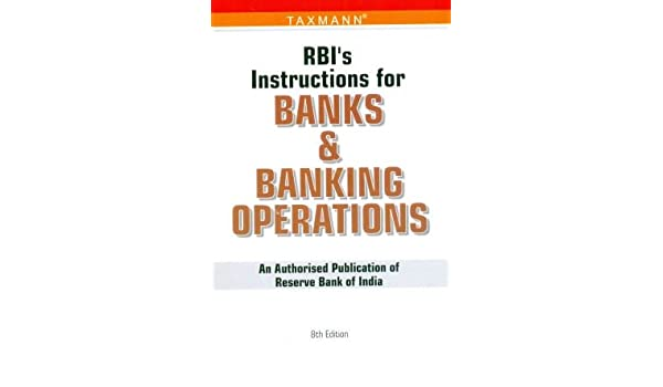 Buy rbi's instruction for banks & banking operations book online.