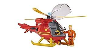 Simba - Bombero Sam Wallaby, helicóptero con Figura (109251661)