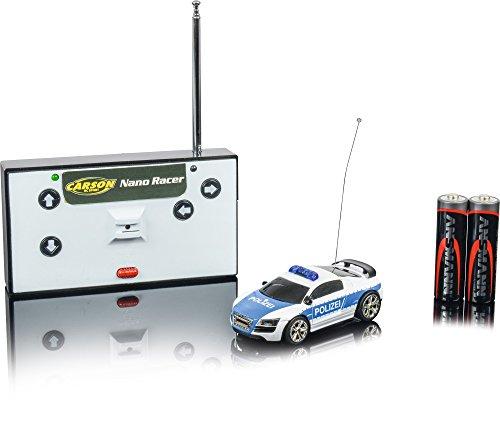 "Preisvergleich Produktbild Carson 500404118 - ""1:60 Nano Racer Polizei 40 MHz"" Fahrzeug"