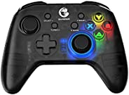 GameSir T4 pro Wireless Bluetooth Game Controller for Windows 7 8 10 PC/iOS/Android/Switch, Rechargeable Dual