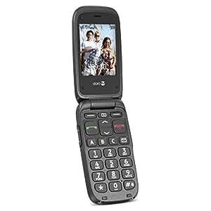 doro phone easy 612 gsm t l phone portable d bloqu noir high tech. Black Bedroom Furniture Sets. Home Design Ideas