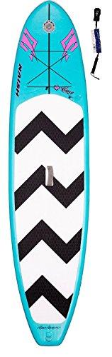 Naish Alana Air SUP 10'6 Standup Paddel Board aufblasbar inkl. SUPwave.de Coil-Leash, Stand up Paddle Board iSUP
