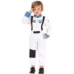 Bristol Novelty Astronauta Toddler Costume Edad 2–3años