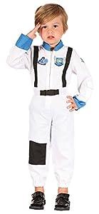 Bristol Novelty CC065 - Disfraz de Astronauta para niño, Talla XS, Color Negro