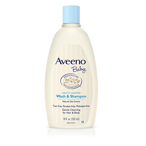 Aveeno Baby Wash & Shampoo 18 Ounce