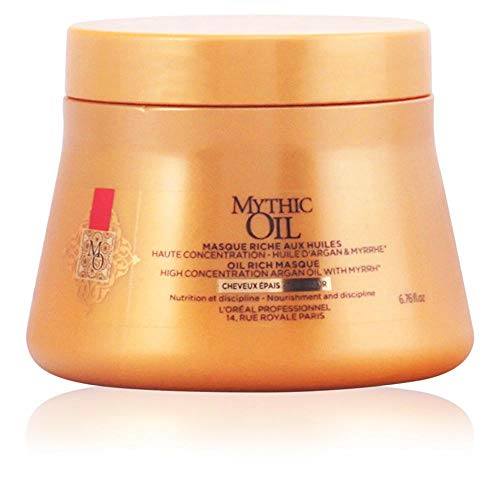L\'Oréal Professionnel Mythic Oil Haarkur mit Argan-Öl für dickes Haar, 200 ml