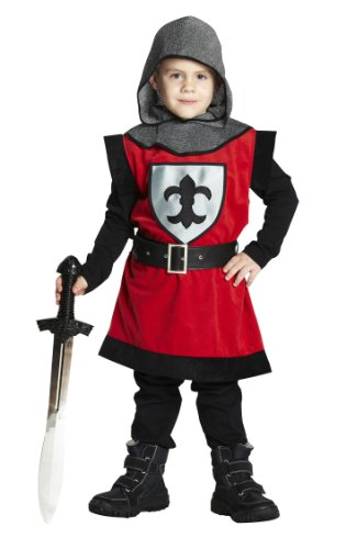 Rubie's 1 2743 116 - Ritter Kostüm, 3-teilig, Größe (Kid Ritter Kostüm)