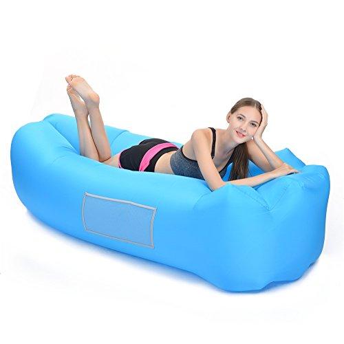 Patiszon Luftsofas Air Lounger Aufblasbares Wasserdichtes Sofa für Outdoor, Reisen, Draußen,...