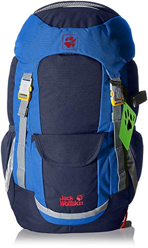 Jack Wolfskin Kinder Kids Explorer 20 Rucksack, Night Blue, ONE Size