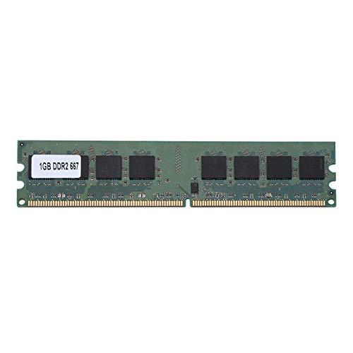 Speicher RAM DDR2 1GB, Bewinner 1GB DDR2 667MHz 240Pin RAM für AMD Laptop Motherboard Dedicated Memory RAM, stabile Leistung und Hochgeschwindigkeitsbetrieb, geeignet für DDR2 PC2-5300 Desktop-Compute Amd 1 Gb Notebook Ram