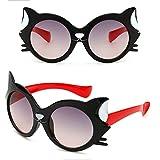25e690fa5 VINSHINE Nuevas Caricaturas De Fox Gafas De Sol para Niños Viaje Al Aire  Libre Gel De Sílice Gafas De Sol Gafas De Color Caramelo