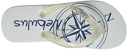 Nebulus - Flipflops Flipp, Sandali Unisex – Adulto Multicolore (Mehrfarbig (compas))