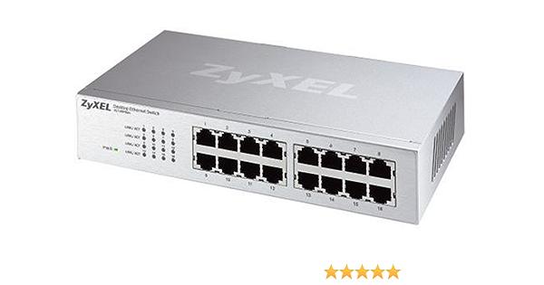 Zyxel Es 116p 16 Port Ethernet Switch Computers Accessories