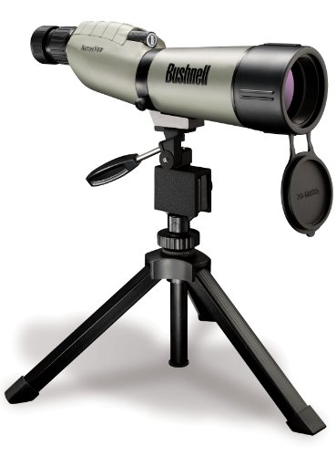 Bushnell Scope (Bushnell Spektiv 20-60x65 Natureview Tan Porro,WPFP, FMC, LeadFree Glass, Box 6 Language, 786065)
