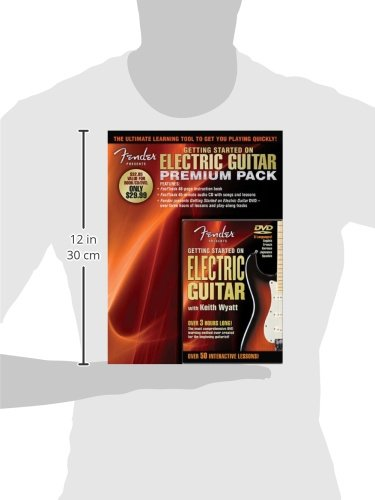 Fender Presents Getting Started on Electric Guitar - Premium Pack (Book CD & DVD Premier Pack)