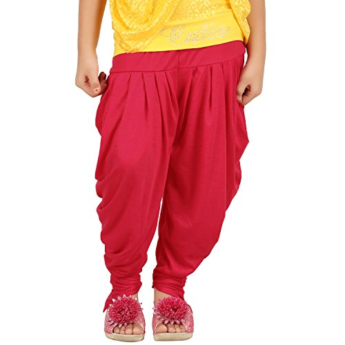Goodtry Girls Butterfly Dhoti Pant- Red  available at amazon for Rs.249
