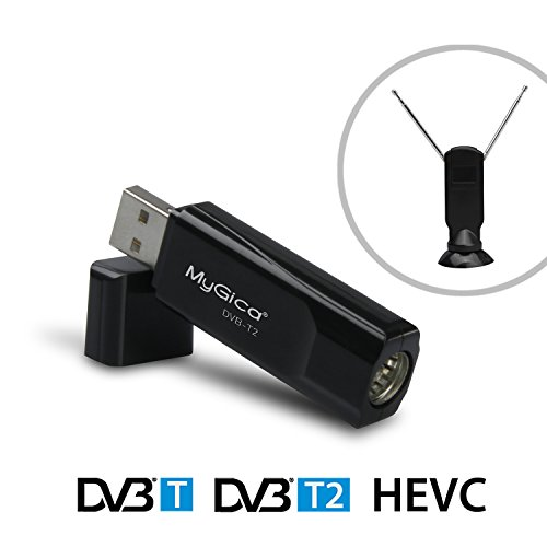 MyGica® DVB-T2 USB TV Tuner-- USB2.0 HDTV Uhr, Pause & Record Digital Freeview Hi Definition und Standard Definition TV auf Ihre (DVB-T2 HEVC T230C)