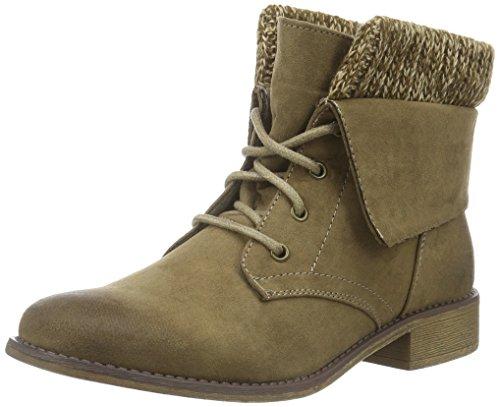 Hailys Damen Lu Ariana Desert Boots Grau (Taupe)