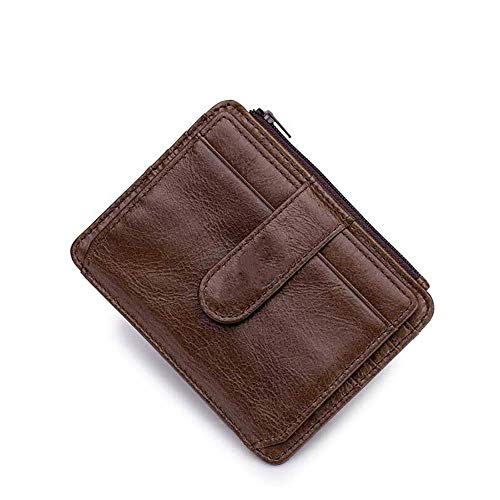 Wenquan,First Layer Kuhfell Herren Doka Commercial Bank Card-Paket(color:KAFFEE) -