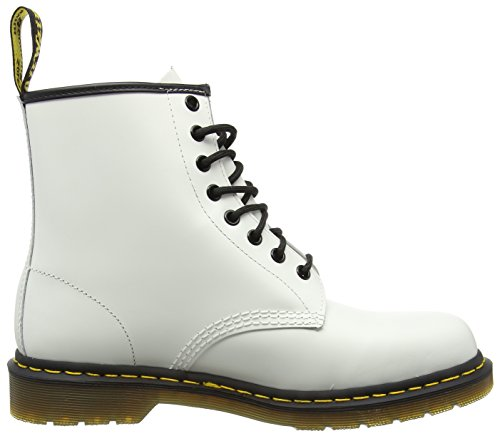Dr. Martens 1460, Boots Mixte Adulte Blanc (Smooth)