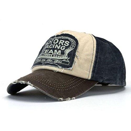 Nueva gorra de béisbol unisex algodón mezclado